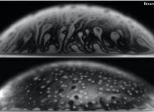 Bcacteria-contaminated bubbles revealed by interferometry.