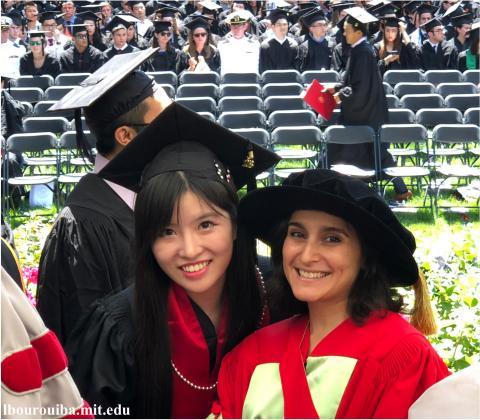 Jia Su graduation 2018!